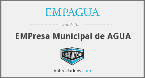 What does EMPAGUA stand for?