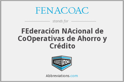 What does FENACOAC stand for?