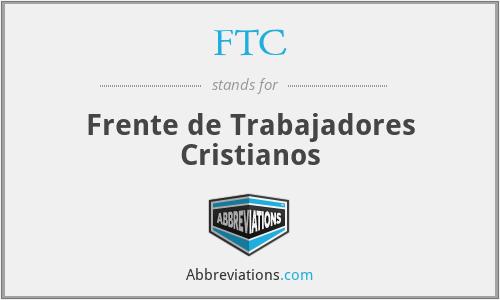 FTC - Frente de Trabajadores Cristianos