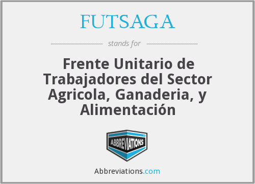 What does FUTSAGA stand for?
