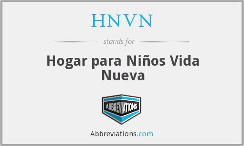 What does HNVN stand for?