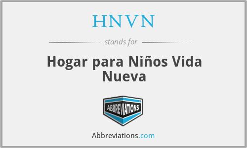 HNVN - Hogar para Niños Vida Nueva