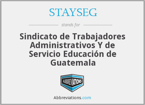 What does STAYSEG stand for?