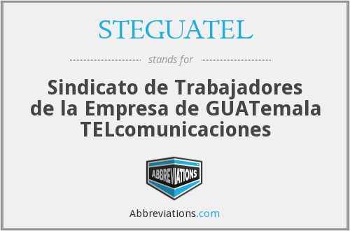 What does STEGUATEL stand for?