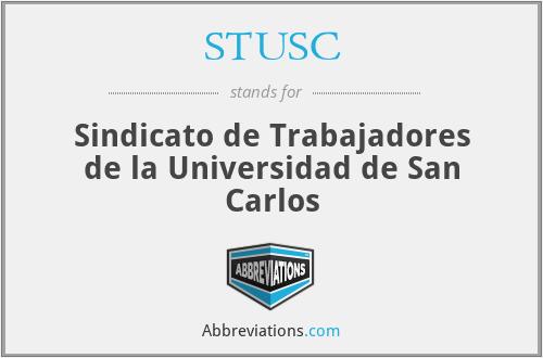 STUSC - Sindicato de Trabajadores de la Universidad de San Carlos