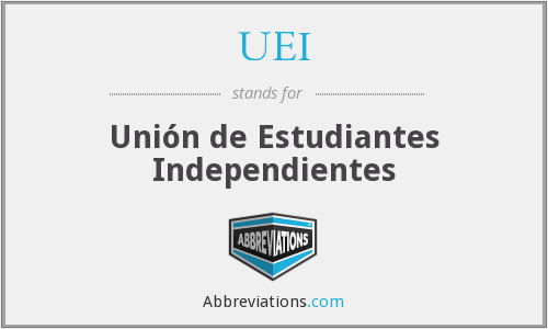 UEI - Unión de Estudiantes Independientes