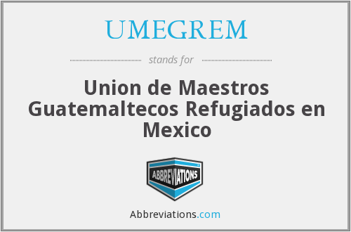 What does UMEGREM stand for?