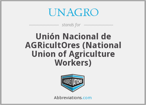 What does UNAGRO stand for?