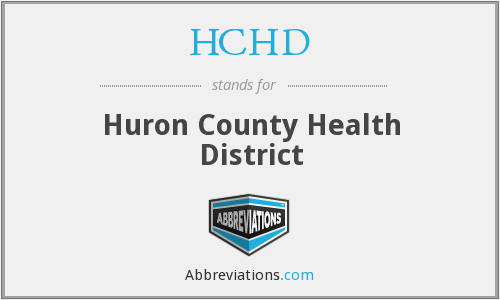 HCHD - Huron County Health District