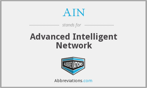 AIN - Advanced Intelligent Network