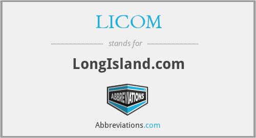 LICOM - LongIsland.com