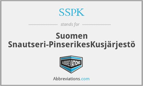 SSPK - Suomen Snautseri-PinserikesKusjärjestö