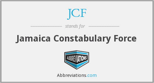 JCF - Jamaica Constabulary Force
