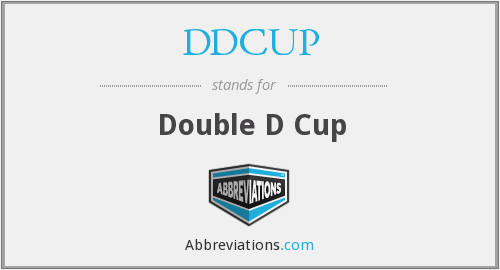 DDCUP - Double D Cup
