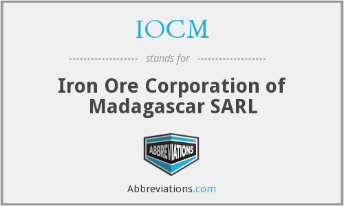 IOCM - Iron Ore Corporation of Madagascar SARL