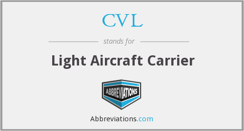 CVL - Light Aircraft Carrier