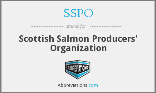 SSPO - Scottish Salmon Producers' Organization