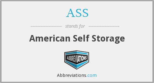 ASS - American Self Storage