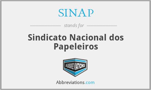SINAP - Sindicato Nacional dos Papeleiros