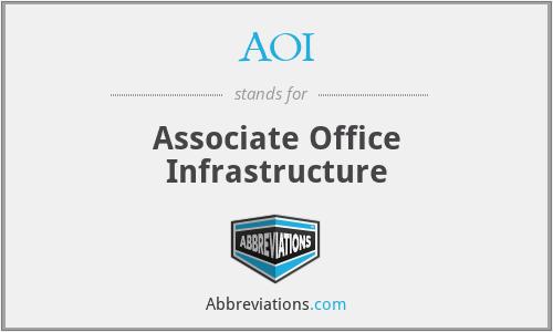 AOI - Associate Office Infrastructure