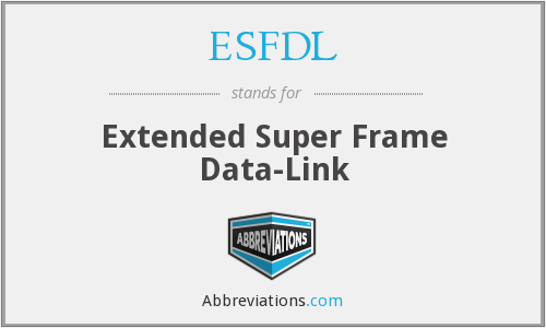 What does ESFDL stand for?