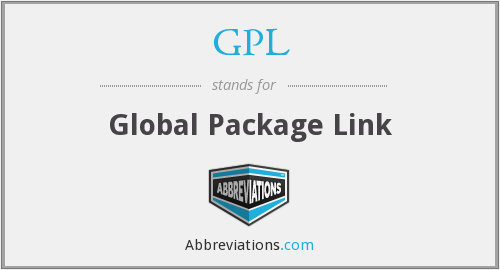 GPL - Global Package Link