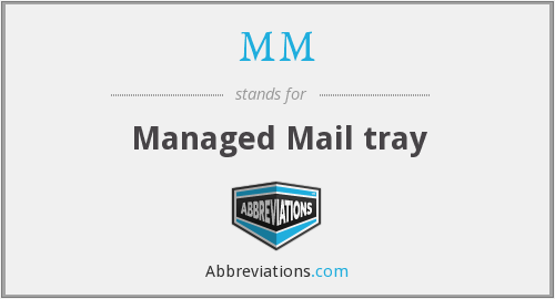 MM - Managed Mail tray