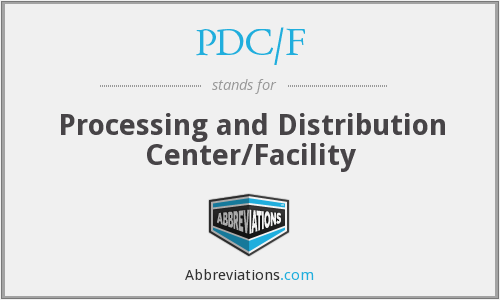 What does PDC/F stand for?