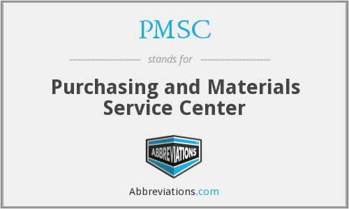 What does PMSC stand for?