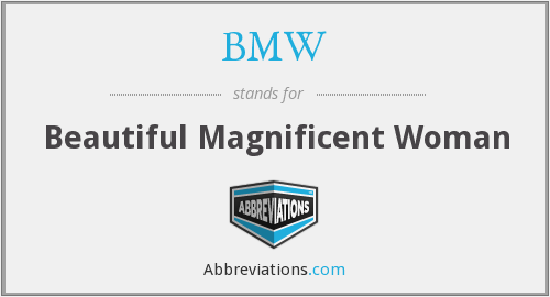 What does BMW stand for? — Page #2