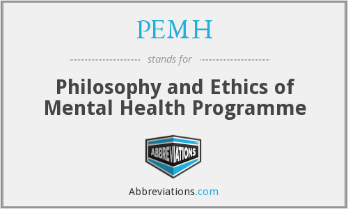 What does PEMH stand for?