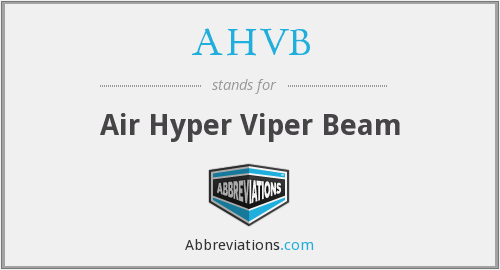 What does AHVB stand for?