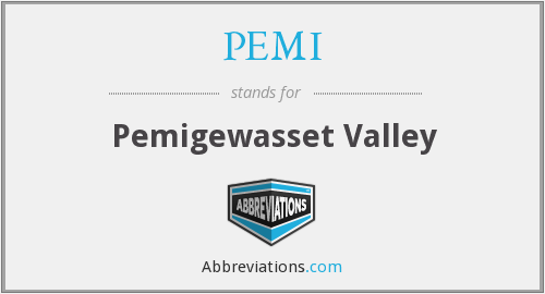 PEMI - Pemigewasset Valley