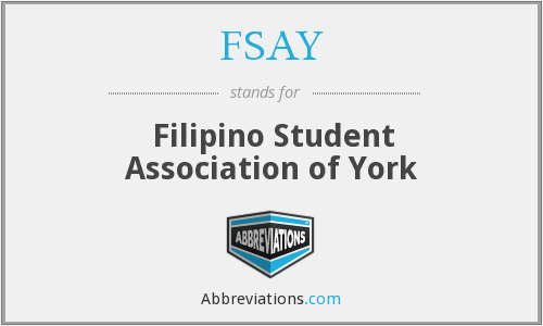 What does FSAY stand for?