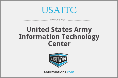 What does USAITC stand for?