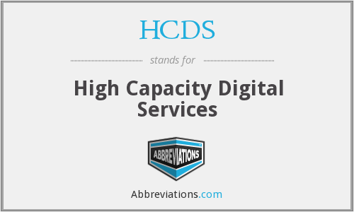 What does HCDS stand for?