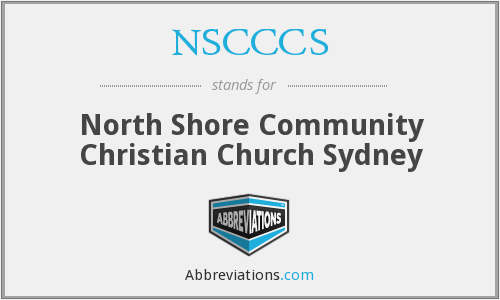 NSCCCS - North Shore Community Christian Church Sydney