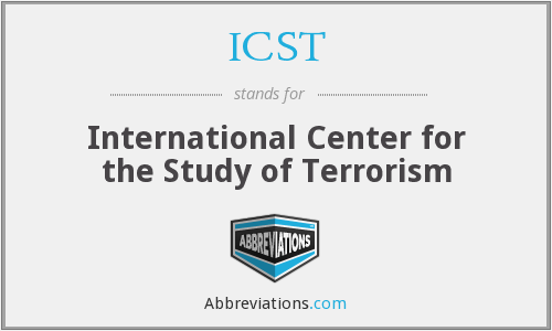 ICST - International Center for the Study of Terrorism