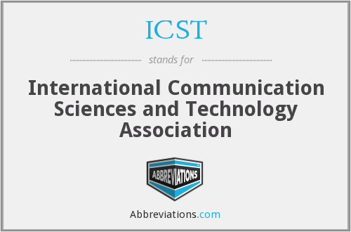 ICST - International Communication Sciences and Technology Association