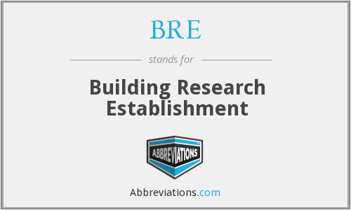 BRE - Building Research Establishment