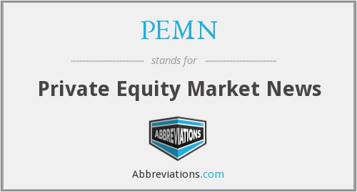 PEMN - Private Equity Market News