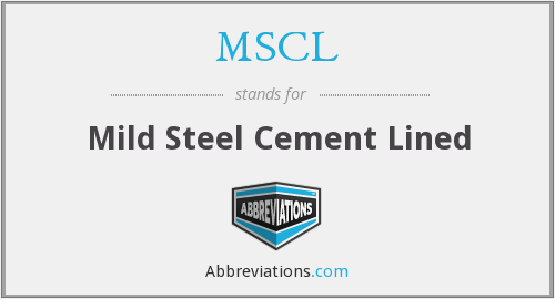 What does MSCL stand for?