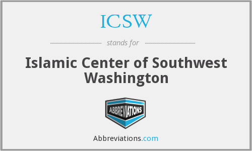 What does ICSW stand for?