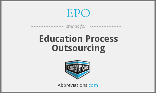 EPO - Education Process Outsourcing
