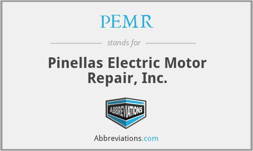 PEMR - Pinellas Electric Motor Repair, Inc.