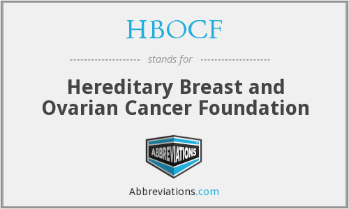 What does HBOCF stand for?