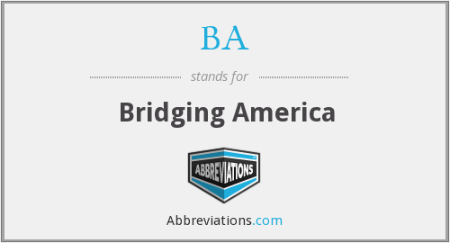 BA - Bridging America