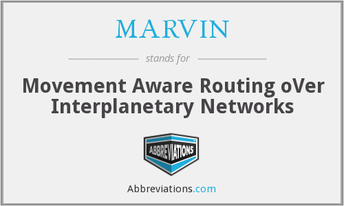 MARVIN - Movement Aware Routing oVer Interplanetary Networks