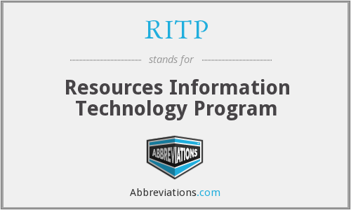 What does RITP stand for?