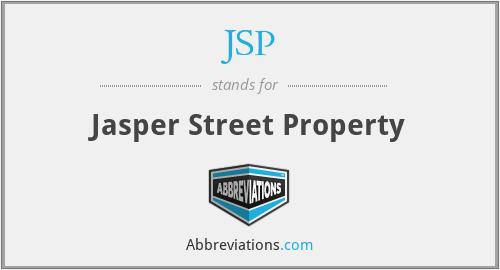 JSP - Jasper Street Property